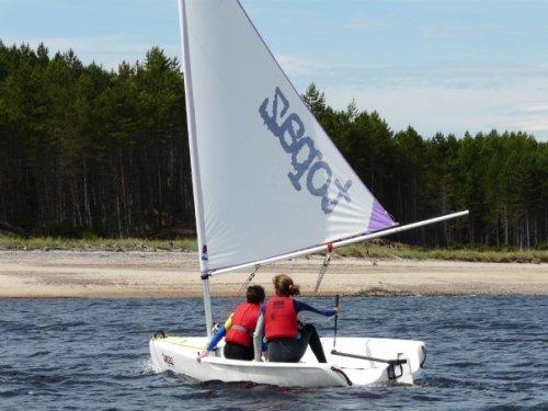 Findhorn Sailing School on Findhorn Bay